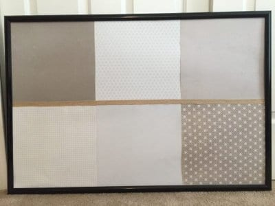 DIY dry erase board