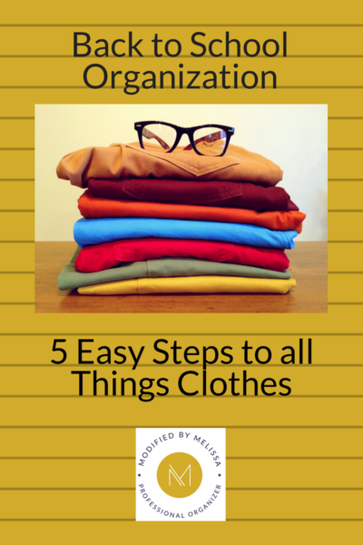 back-to-school organizing clothes