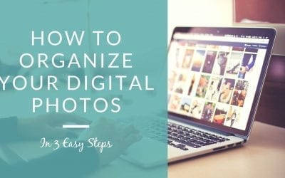 How to organize your digital photos in 3 easy steps