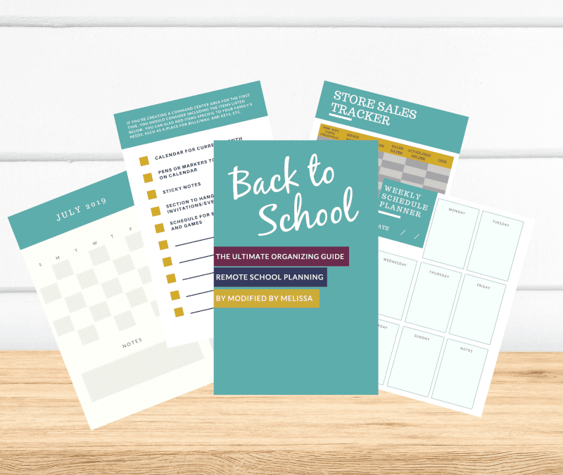 Back to School Guide- Remote School Planning 2020
