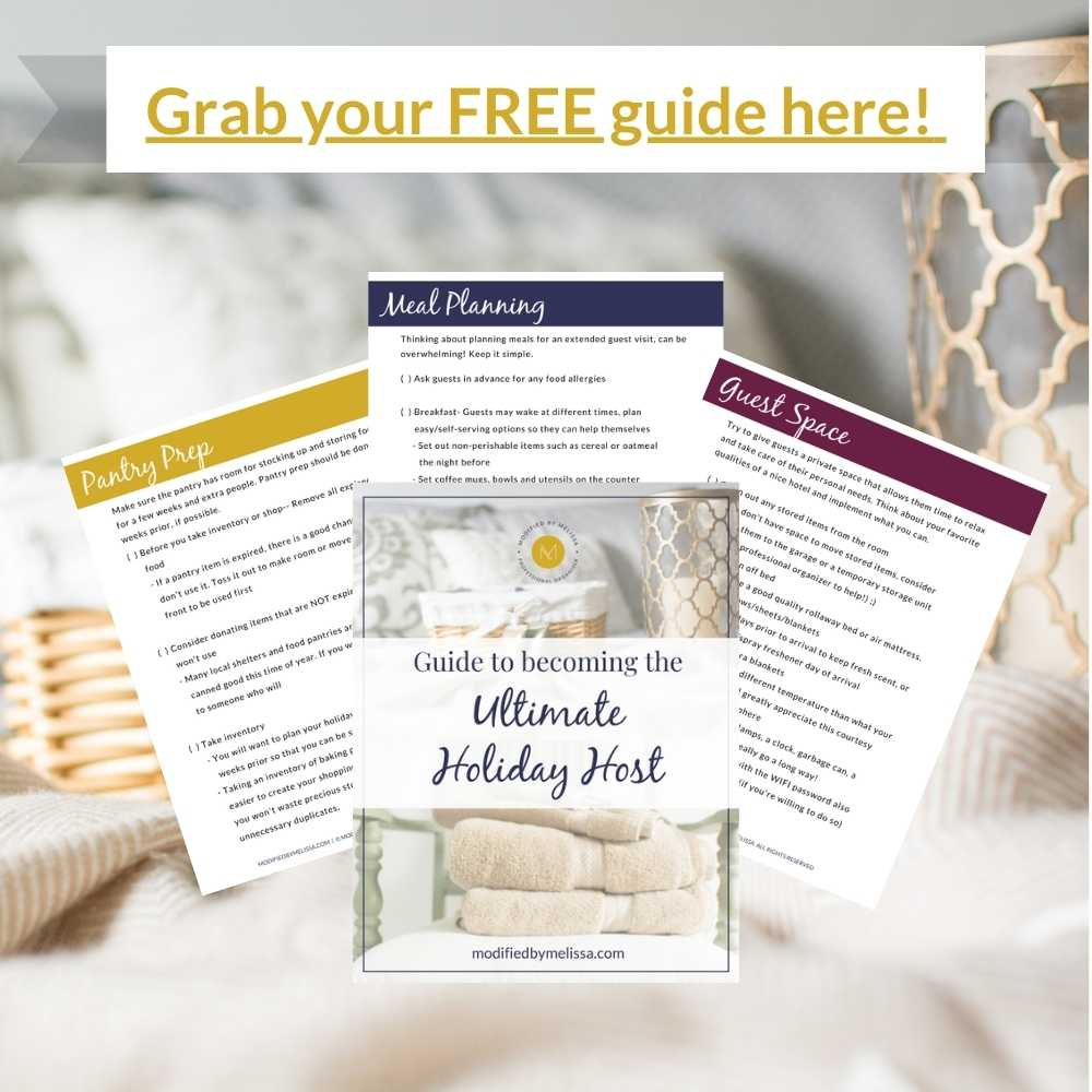 Holiday Host Sign up